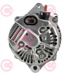 CAL40121 BACK DENSO Type 12V 120Amp PR7