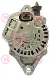 CAL40123 BACK DENSO Type 12V 55Amp PV2