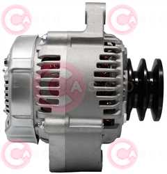 CAL40207 SIDE DENSO Type 12V 80Amp 2Ribs