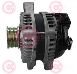 CAL40338 SIDE DENSO Type 12V 100Amp PR7