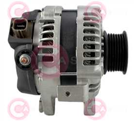 CAL40382 SIDE DENSO Type 12V 100Amp 7Ribs