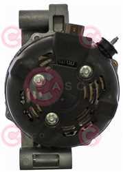 CAL40422 BACK DENSO Type 12V 150Amp PFR7