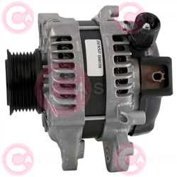 CAL40438 SIDE DENSO Type 12V 150Amp PFR7