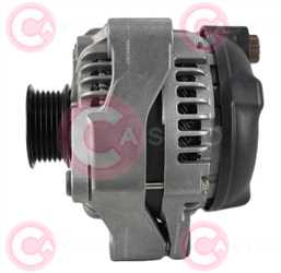 CAL40449 SIDE DENSO Type 12V 130Amp PR6