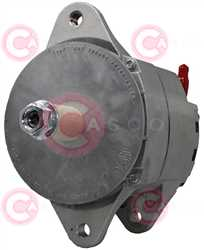 CAL60101 FRONT DELCOREMY Type 12V 60Amp