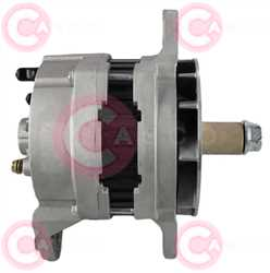 CAL60102 SIDE DELCOREMY Type 12V 145Amp