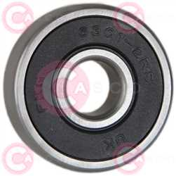 CBE58134 DEFAULT SKF Type 12mm 37mm 12mm