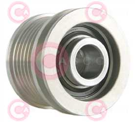 CCP90100 BACK INA Type PFR6 17 mm 49,35 mm 40,15 mm