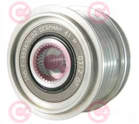 CCP90109 FRONT INA Type PFR6 17 mm 55,87 mm 40,95 mm