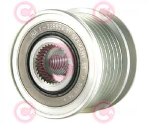 CCP90112 FRONT INA Type PFR6 17 mm 49,71 mm 39,15 mm