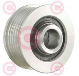 CCP90148 BACK INA Type PFR6 17 mm 54,02 mm 38,10 mm