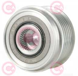 CCP90148 FRONT INA Type PFR6 17 mm 54,02 mm 38,10 mm
