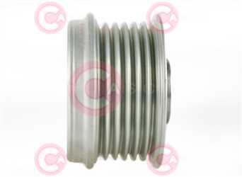 CCP90148 SIDE INA Type PFR6 17 mm 54,02 mm 38,10 mm