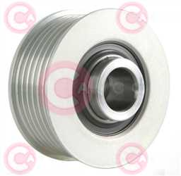 CCP90150 BACK INA Type PFR6 17 mm 59,71 mm 39,60 mm
