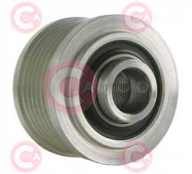 CCP90190 BACK INA Type PFR6 17 mm 53,98 mm 40,90 mm