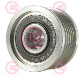 CCP90190 FRONT INA Type PFR6 17 mm 53,98 mm 40,90 mm