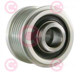 CCP90201 BACK INA Type PFR6 17 mm 49 mm 38,25 mm