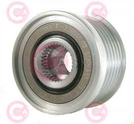 CCP90201 FRONT INA Type PFR6 17 mm 49 mm 38,25 mm