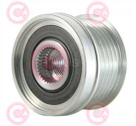 CCP90207 FRONT INA Type PFR6 17 mm 49,71 mm 36,10 mm