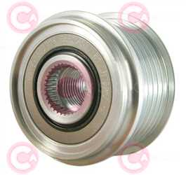 CCP90221 FRONT INA Type PFR6 17 mm 54,02 mm 39,40 mm