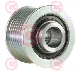 CCP90222 BACK INA Type PFR7 17 mm 49,05 mm 38,30 mm