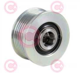 CCP90226 BACK INA Type PFR6 17 mm 58,67 mm 36,30 mm