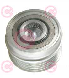 CCP90235 FRONT INA Type PFR5 17 mm 54 mm 39,80 mm