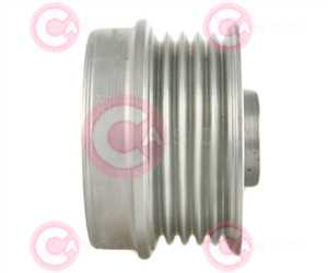 CCP90235 SIDE INA Type PFR5 17 mm 54 mm 39,80 mm