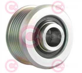 CCP90249 BACK INA Type PFR6 17 mm 53,84 mm 38,30 mm