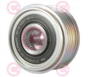 CCP90249 FRONT INA Type PFR6 17 mm 53,84 mm 38,30 mm