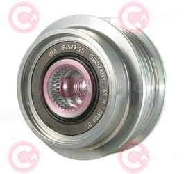 CCP90250 FRONT INA Type PFR5 17 mm 59,70 mm 39,90 mm