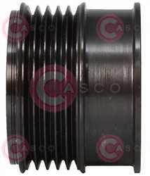 CCP92108 SIDE LITENS Type PFR5 17 mm 57 mm 42,80 mm