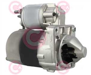 CST15162 SIDE VALEO Type 12V 0,90kW 9T CW