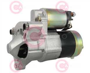 CST15222 SIDE VALEO Type 12V 0,90kW 9/12T CW