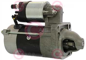 CST30110 SIDE MARELLI Type 12V 0,80kW 8/9T CW