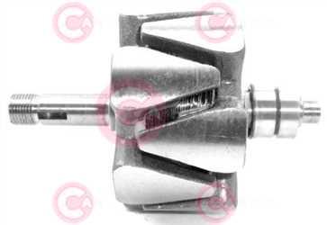 CRO15081 DEFAULT VALEO Type 12V 99,40mm